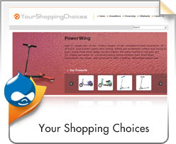Drupal, Your Shopping Choices