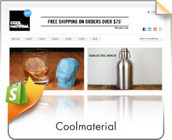 Shopify, Coolmaterial