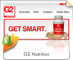 Shopify, G2 Nutrition