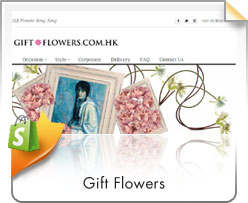 Shopify, Gift Flowers