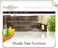 Shopify, Shade Tree Furniture