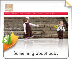 Shopify, Something About Baby