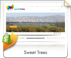 Shopify, Sweet Trees