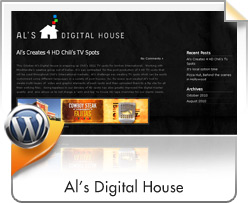Wordpress, Al's Digital House