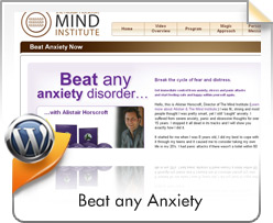 Wordpress, Beat Panic Anxiety Now