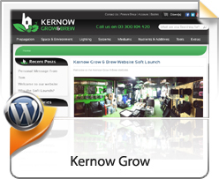 Wordpress, Kernow Grow