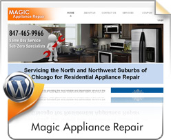 Wordpress, Magic Appliances