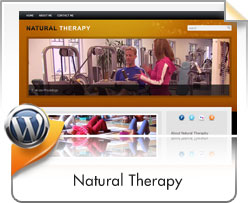 Wordpress, Natural Therapy