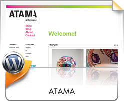 Wordpress, Shop Atama Blog