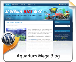 Wordpress, Aquarium Mega Store