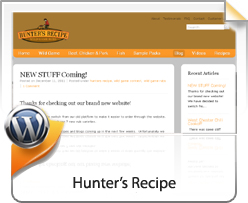 Wordpress, Hunter's Recipe